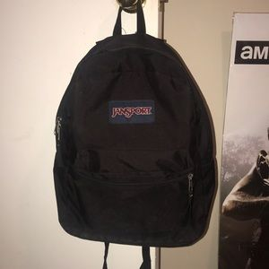 black jansport bookbag